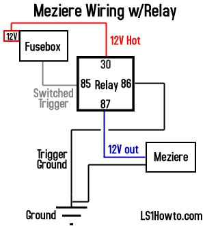 _relay_diagram ls1howto com moroso electric water pump wiring diagram at bakdesigns.co