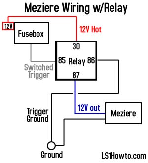 Awe Inspiring Meziere Water Pump Relay Wiring Confirmation Camaroz28 Com Wiring Cloud Hisonuggs Outletorg